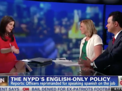 John Avlon Outrage over NYPD English Only Policy – OutFront – CNN
