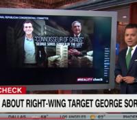 John Avlon Debunking the Myths Surrounding George Soros – Reality Check with John Avlon – CNN