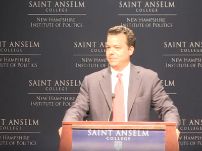 John Avlon Washington's Farewell – New Hampshire Institute of Politics