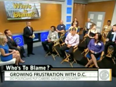 John Avlon Who's to blame for debt gridlock? – CBS Early Show