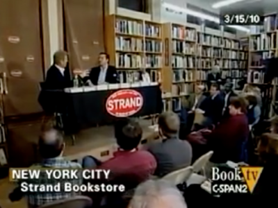 "John Avlon ""Wingnuts"" Reading at The Strand – C-SPAN Book TV"